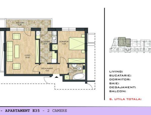 Motilor Residence Ap E35