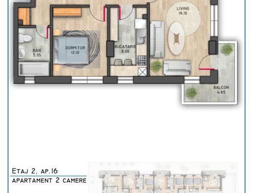 Postavarului Stylish Residence Etaj 2 Ap 16
