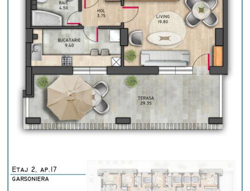 Postavarului Stylish Residence Etaj 2 Ap 17