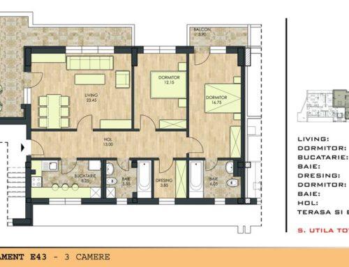 Motilor Residence Ap E43