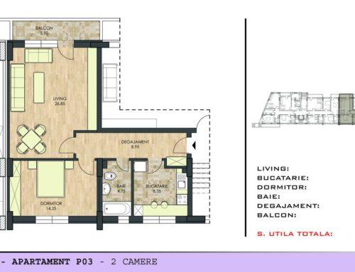 Motilor Residence Ap P03 Scara 1